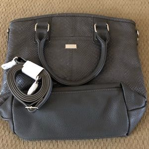 NWOT Thirty One Paris handbag in City Charcoal